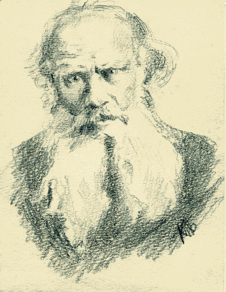 Портрет Л. Н. Толстого
