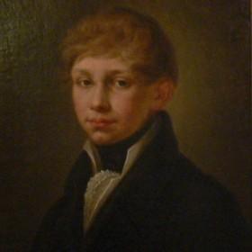 Портрет молодого человека из семьи Боратынских