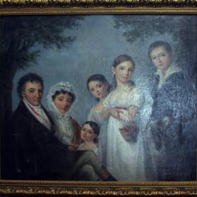 Семейный портрет Энгельгардтов.