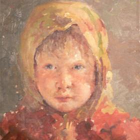 Портрет крестьянской девочки