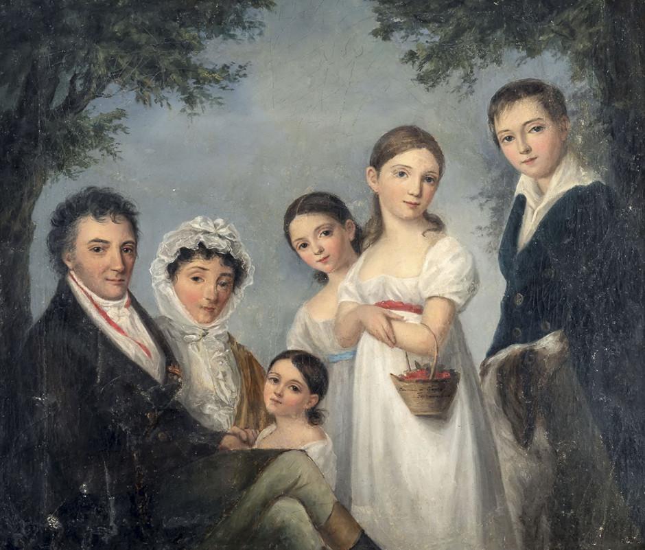 Портрет семьи Энгельгардт
