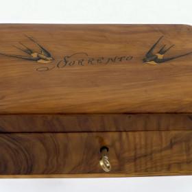Шкатулка, привезенная Боратынскими из заграничного путешествия 1843-1844