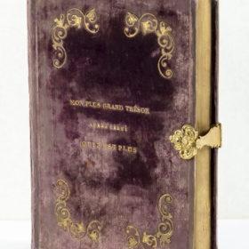 Шкатулка для писем в форме книги. I пол. XIX в.