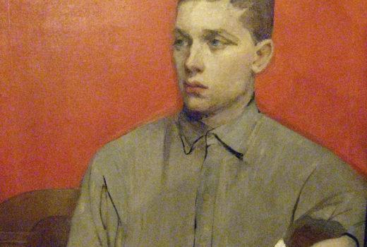 12. Портрет Алека работы Н.М. Сапожниковой 1916