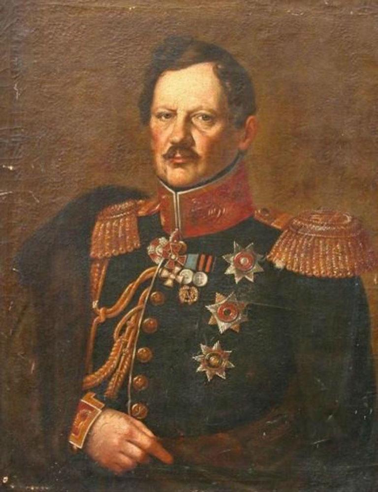 Ян Машковский. Портрет казанского генерал-губернатора С.С.Стрекалова. 1832 – 1836