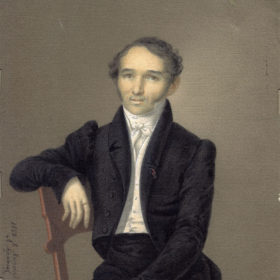 Л.Д. Крюков. Портрет К.Ф. Фукса. 1828