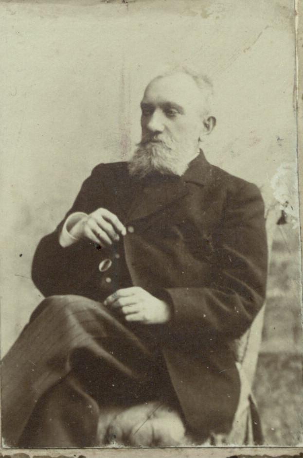 Н.Е. Боратынский, сын поэта Евгения Боратынского. Фотография. Казань. Фотобумага, картон. 1890-е
