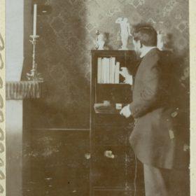 А.Н. Боратынский, внук Евгения Боратынского. Фотография. Казань. Фотобумага, картон. 1890-е