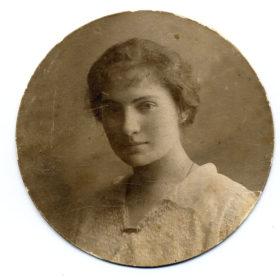 Ольга Александровна Ильина-Боратынская. 1916 г. Фотография. Фотобумага.
