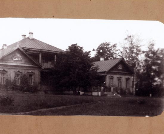 Усадебный дом в Новоспасском. 1890-е
