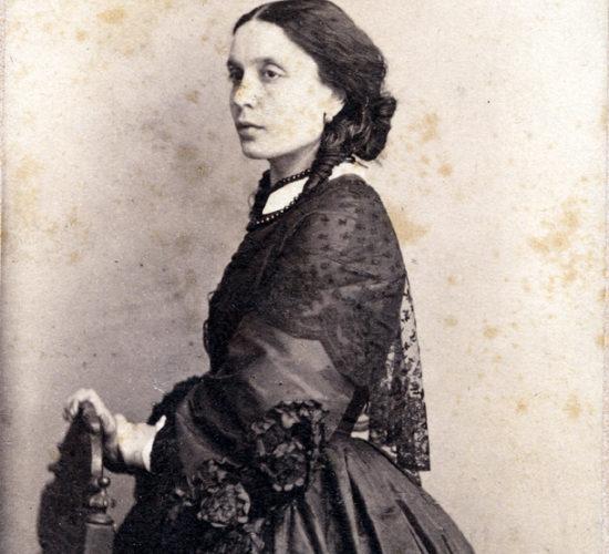 Вера Владимировна Толстая (Панаева). 1870-е (?)