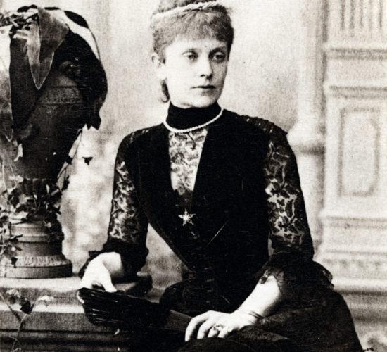 Мария Львовна Казем-Бек (Толстая). К.1870-нач.1880-х