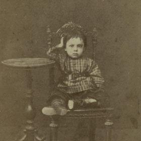 Портрет А.Н. Боратынского. Казань. 1869-1870 гг. Фотоателье А.Е.Маслова.