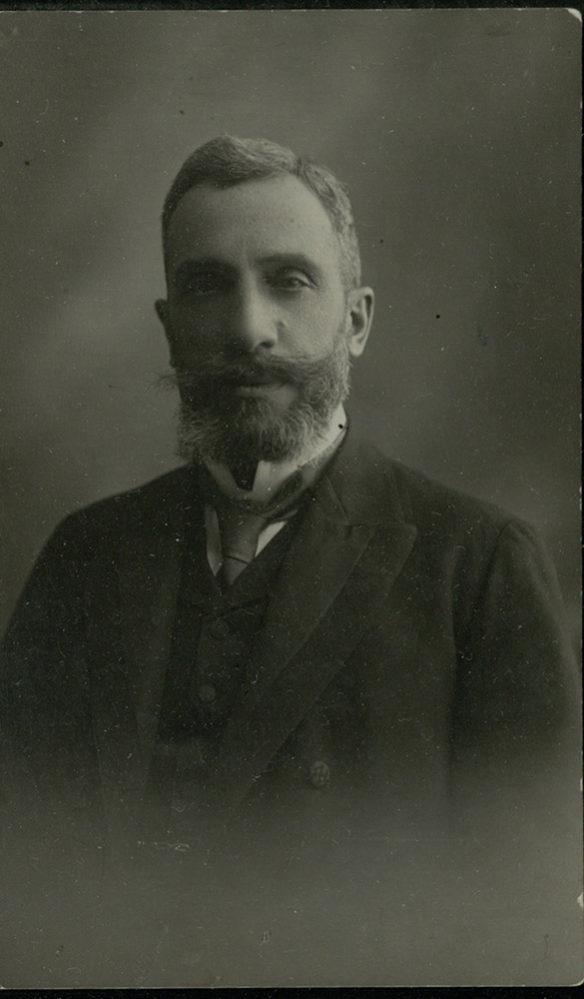 Портрет А.Н. Боратынского. Казань(?). 1914 г.