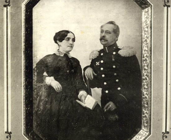 2. А.Д.и И.А.Боратынские. Казань. 1850-е.