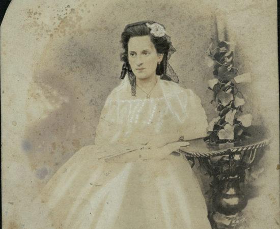 5. О.А. Боратынская, ур. Казем-бек. Жена сына поэта Николая. 1871.