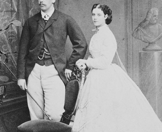 6. Цесаревич Александр Александрович и Великая княгиня Мария Федоровна. 1866г.