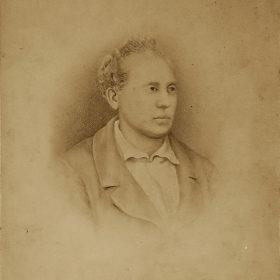 Портрет Е.А. Боратынского. Фотографический снимок. Сер. XIX в.