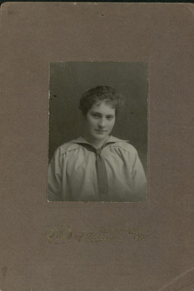 О.А. Ильина-Боратынская, правнучка поэта Е.А. Боратынского.