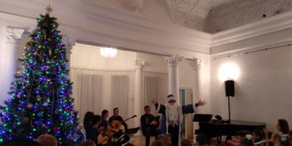 Сказка о царе Салтане на новогодний лад Музыкально-театральное представление