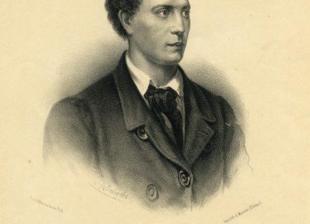 Мюнстер Александр Эрнестович (1824 – 1908) по рисунку А.И. Лебедева.