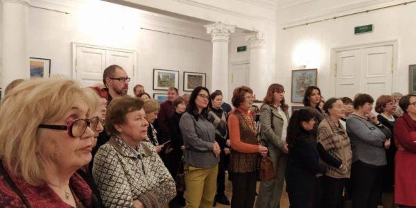 Открытие выставки «С благодарностью – Казани» к 70-летию художника Евгения Канева