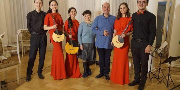 Масленица в Боратынке. Представление «Поэтического театра Алексея Гомазкова»