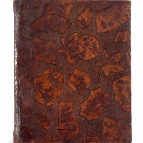 Бювар для бумаг Е.А. Боратынского. 1830-е. Кожа, ткань, картон