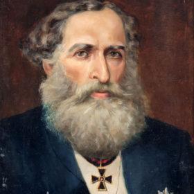 П.А. Казем-Бек. Портрет А.К. Казем-Бека. 1896. Холст, масло