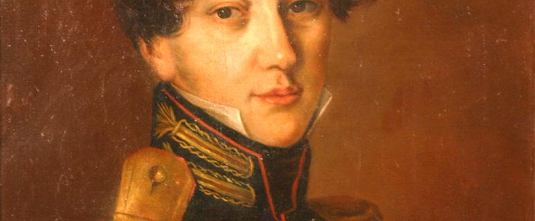 П.А. Казем-Бек. Портрет П.Л. Толстого. 1896. Холст, масло