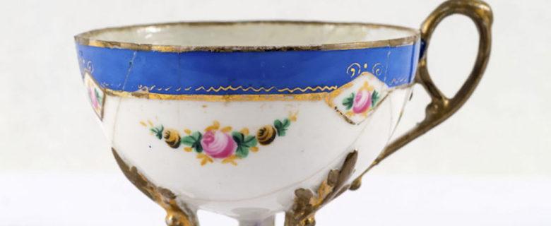 Чашка чайная. Россия. Середина XIX в. Фарфор